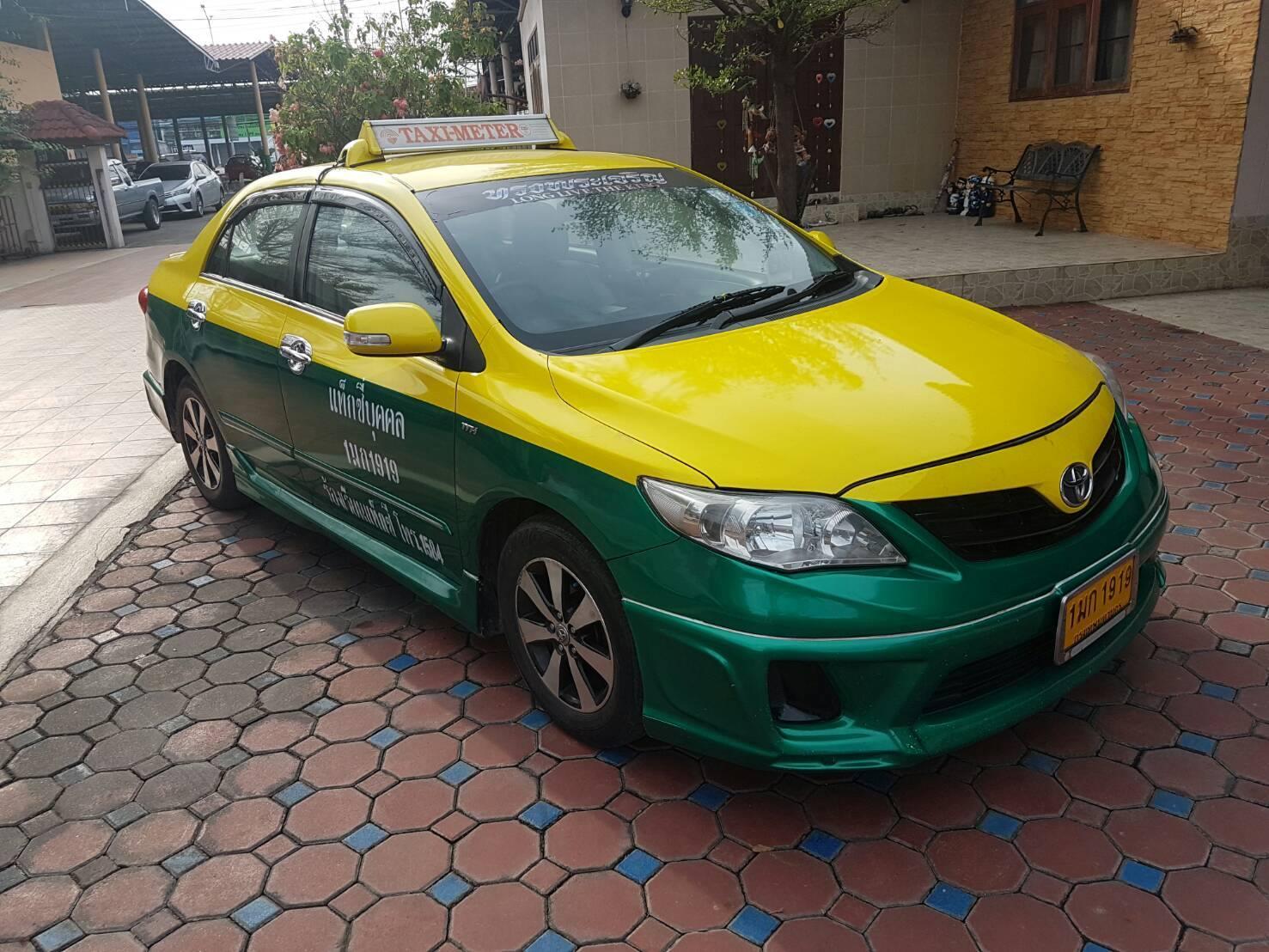 แท็กซี่มือสอง Altis J ปี 2011 เหลือวิ่ง 3 ปี 5 เดือน