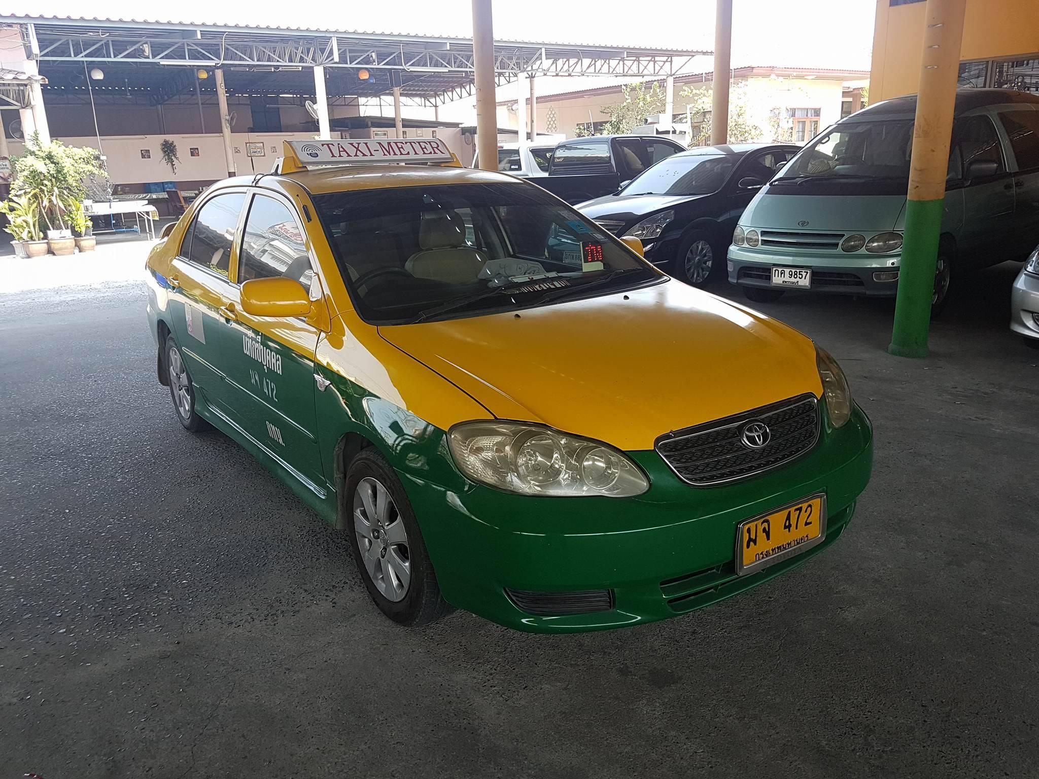 แท็กซี่ปลดป้าย Altis J ปี 2005