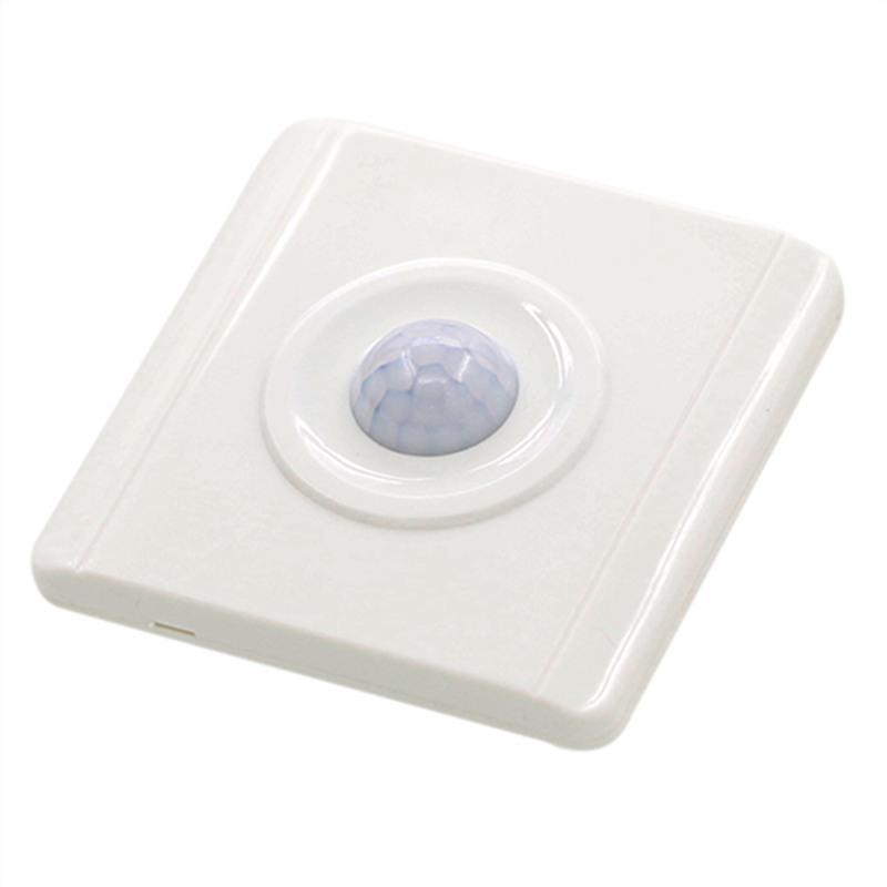 เซ็นเซอร์เปิด-ปิดไฟ จับความเคลื่อนไหว แบบติดผนัง PIR Motion Sensor Light Switch