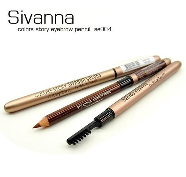 ดินสอเขียนคิ้วซีเวียน่า Sivanna Eyebrow Pencil SE004 *ยกแพค 12 แท่ง*