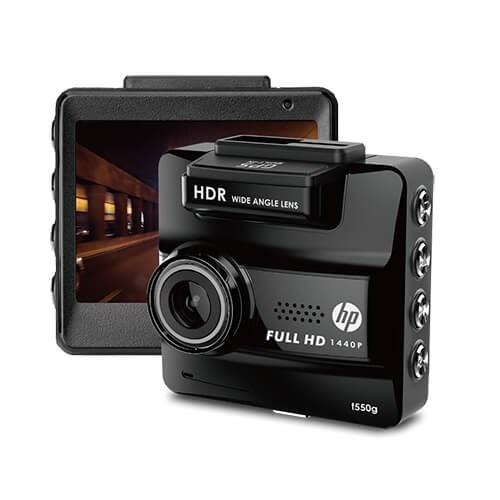 กล้องติดรถยนต์ HP F550G