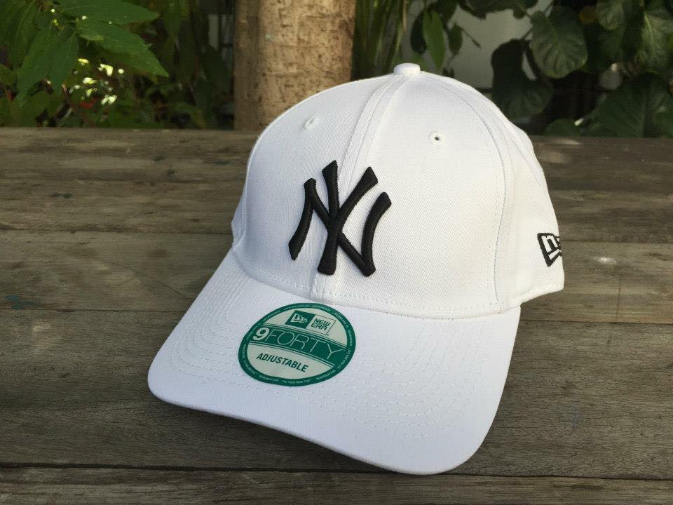 หมวก New Era New York Yankees 9forty ขาว