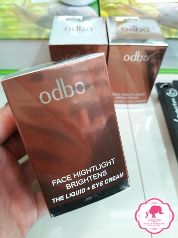 ODBO Golden ratio face highlight brightens the liquid โอดรบีโอ โกลเด้นเรโช ไฮไลท์ + รองพื้น