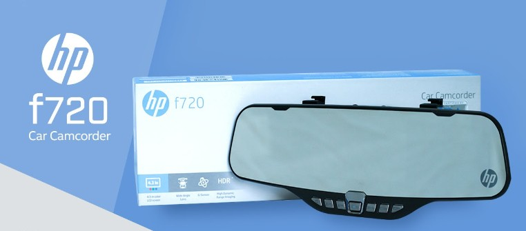 กล้องติดรถยนต์ HP F720