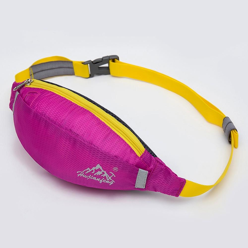 กระเป๋าวิ่งคาดเอว H&W Running Bag Travel (Purple)