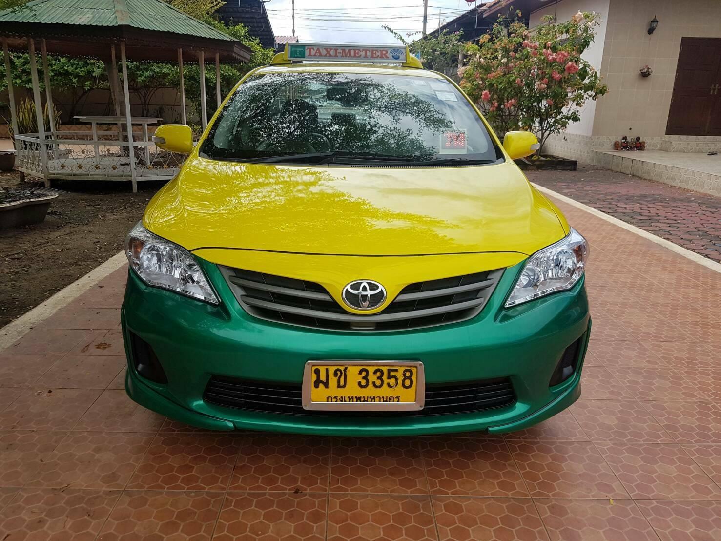 แท็กซี่มือสอง Altis J ปี 2012 เหลือวิ่ง 4 ปี 9 เดือน