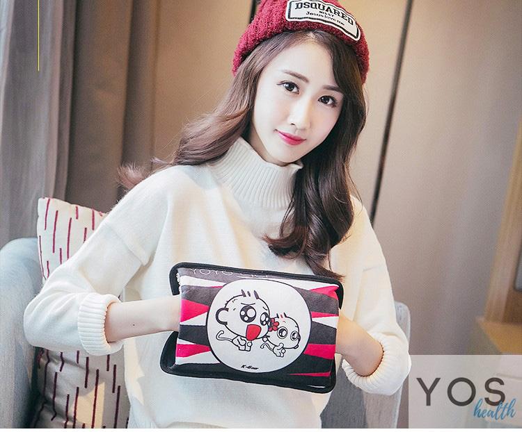 กระเป๋าน้ําร้อนไฟฟ้า Y418-1-MO ลิงคู่