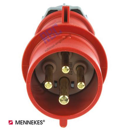ปลั๊กตัวผู้ MENNEKES (รหัส 264) (4P) 32A ,400V ,IP44