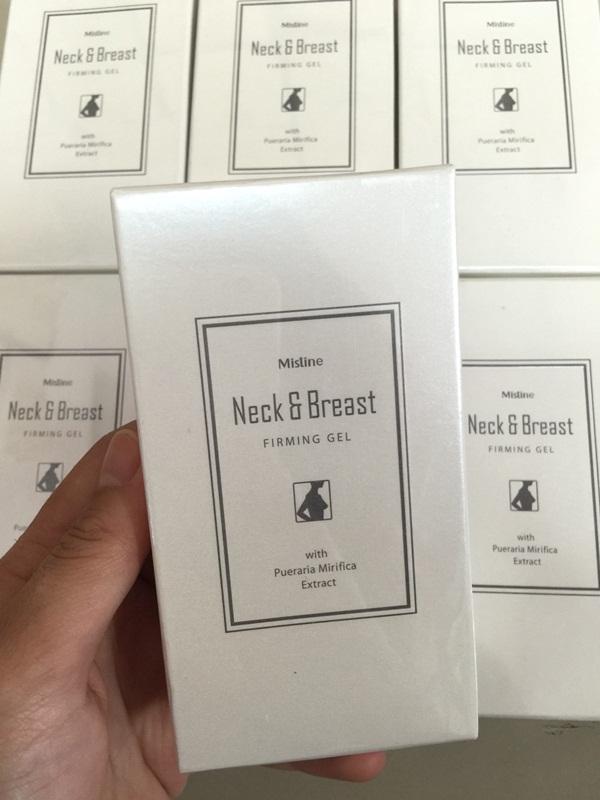 Mistine Neck and Breast Firming Gel มิสทีน เน็ค แอนด์ เบรสท์ เฟริมมิ่ง เจล