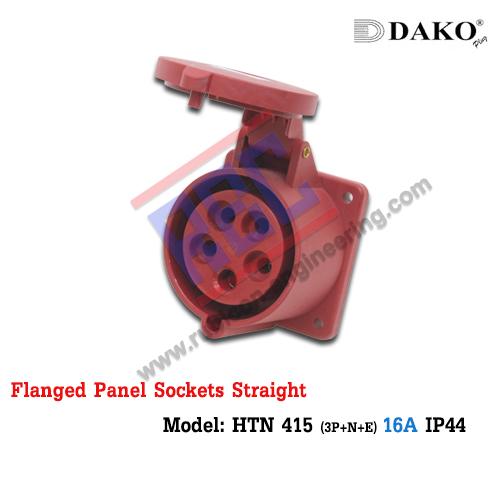 เต้ารับฝังตรง HTN 415 (5P) 16A ,380-415V ~, IP44 ,DAKO