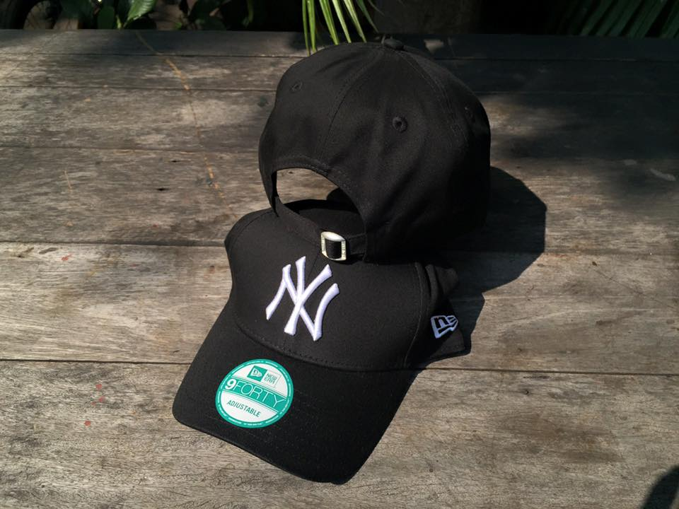 หมวก New Era New York Yankees 9forty ดำ