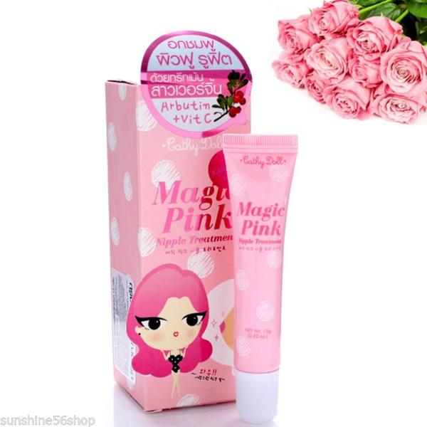Cathy Doll Magic Pink Nipple Treatment เคที่ดอลล์ เมจิกพิ้งค์ นิพเพิล ทรีทเม้นท์ ทรีทเม้นท์บำรุงหัวนมกระจ่างใสอมชมพู