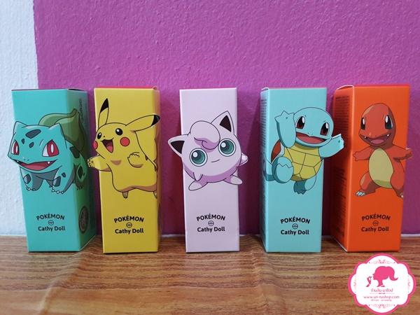 Vit C Tint Cathy Doll Pokemon Edition วิทซีทินท์ เคที่ดอลล์ ปากสดฉ่ำ น่าจุ๊บ!