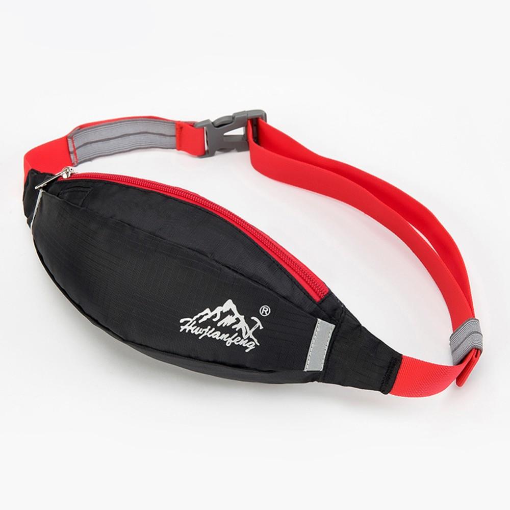 กระเป๋าวิ่งคาดเอว H&W Running Bag Travel (Black)