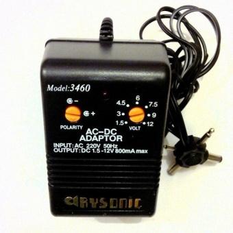 หม้อแปลง Adapter 1.5-12V รุ่น AC-3460 (800mA) 6 in 1