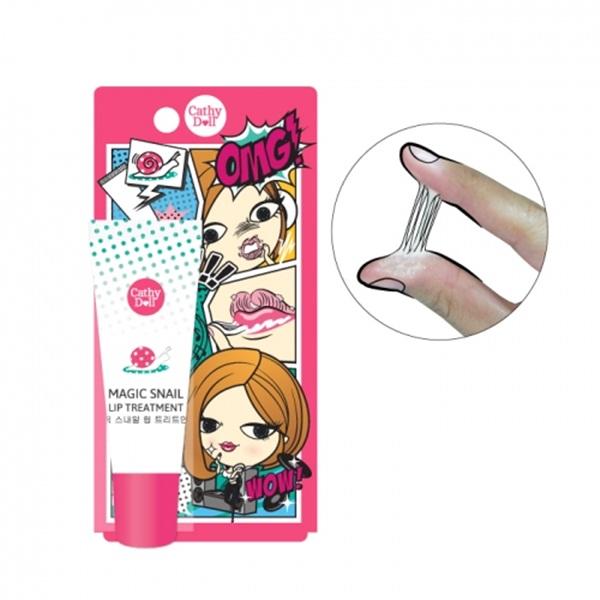 Cathy Doll Magic Snail Lip Treatment เคที่ดอลล์ เมจิก สเนล ลิป ทรีทเม้นท์