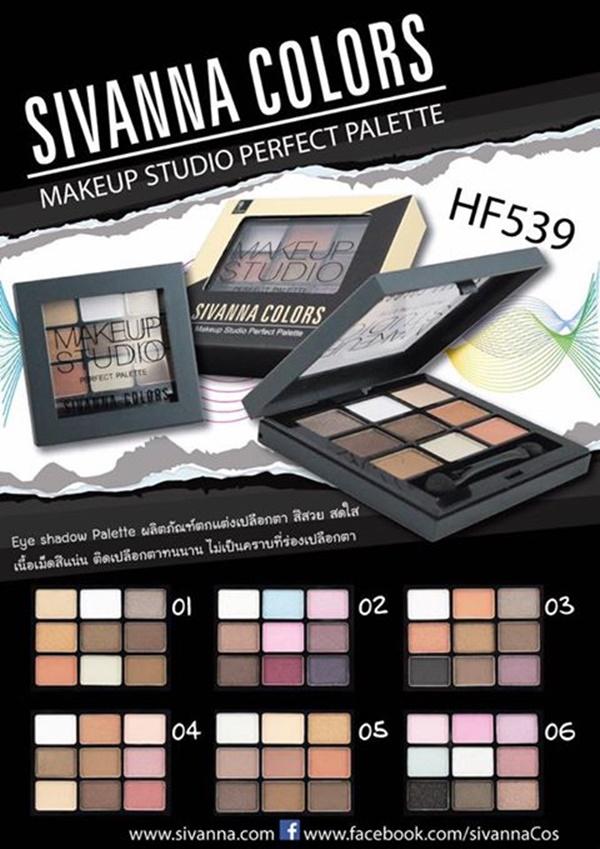 ขายส่ง HF539 sivanna colors makeup studio perfect palette ซีเวนน่า คัลเลอร์ส เมคอัพ สตูดิโอ เพอร์เฟ็ค พาเลทท์