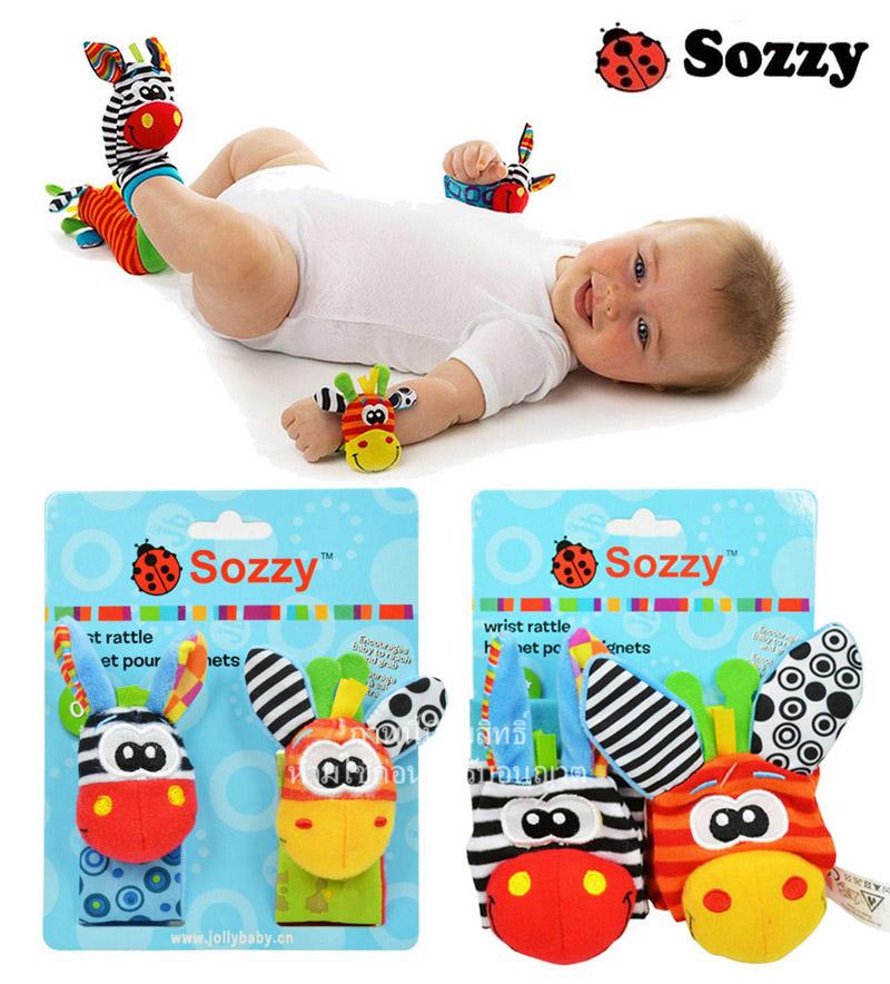 ข้อมือ ถุงเท้า เสริมพัฒนาการ Sozzy
