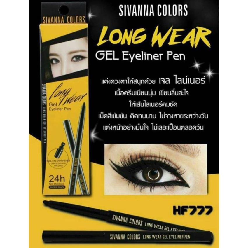 Product details of Sivanna Colors Long Wear Gel Eyeliner Pen ซีเวียน่า คัลเลอร์ส ลอง แวร์ เจล อายไลเนอร์ เพ็น HF777