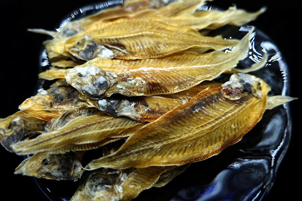 อาหารทะเลแห้ง ปลาลิ้นหมา (2ขีด)