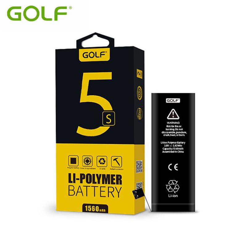 Golf แบตเตอรี่ iPhone 5S 5C 1560 mAh