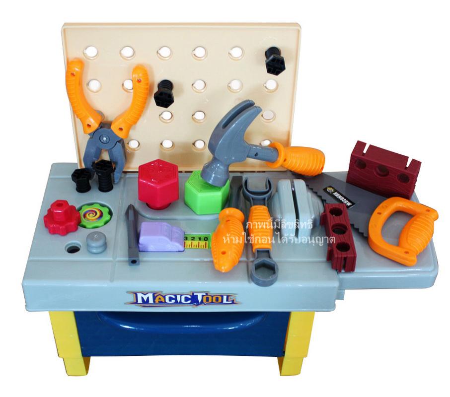 ชุดเครื่องมือช่างตั้้งโต๊ะ Magic Tool