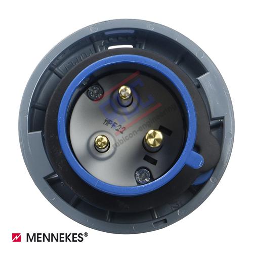 ปลั๊กตัวผู้กันน้ำ MENNEKES (รหัส 290) (3P) 32A ,230V ,IP67