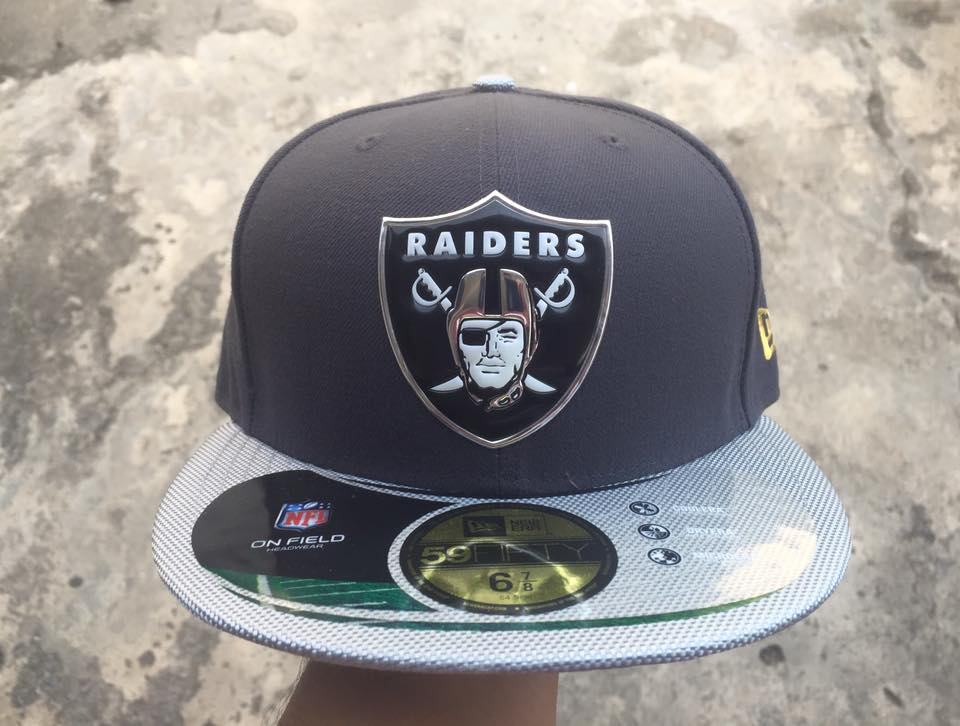 หมวก New Era NFL Oakland Raiders Gold Collection