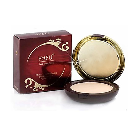 แป้งยาฟู YAFU Micro - crystal Whitening Double-purpose Powder Cake 2 ชั้น