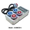 A10MC03-4 กล่องปลั๊กพาวเวอร์สนาม ( 3P+N+E) 32A 400V