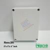 """กล่องพลาสติกกันน้ำ Nano.205 ( 8x6x4"""" นิ้ว)"""