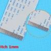 สายแพร 26 Pins Pitch 1mm Length 20cm Flat Cable