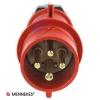 ปลั๊กตัวผู้ MENNEKES (รหัส 252) (4P) 16A ,400V ,IP44
