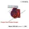 เต้ารับฝังตรงกันน้ำ HTN 4251 (5P) 32A ,380-415V ~, IP67 ,DAKO