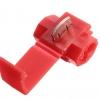 10 ชิ้น ตลับหนีบต่อสายไฟ Red ขนาด 0.5-1.5mm Crimp Terminal