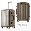 กระเป๋าเดินทาง ขนาด 24 นิ้ว - สีน้ำตาล