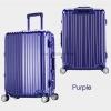 กระเป๋าเดินทาง ขนาด 24 นิ้ว - สีม่วง