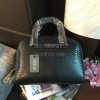 ReStock! GUESS CROC LEATHER BOWLING BAG