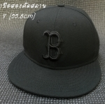 หมวก New Era MLB Boston Red Sox black on black 59fifty
