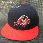 หมวก New Era MLB Atlanta Braves on field alternate color 59fifty