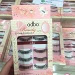 ODBO Beauty eyelash handmade od802 โอดีบีโอ บิวตี้ อายแลช แฮนเมต ขนตาปลอมคุณภาพดี มี 5คู่ ใน 1แพค