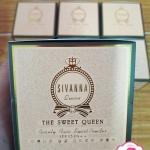 Sivanna the sweet queen beauty face sweet powder HF605 แป้งฝุ่นและแป้งอัดแข็งในตลับเดียว