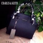 CHARLES & KEITH TRAPEZE HANDBAG