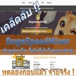 เคล็ดลับ DogeSpeedMiner ทำอย่างไร ให้ทวีกำไรมหาศาล มาดูกัน