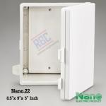 """ตู้พลาสติก ฝาทึบ (NANO22) 8.5x9.5x5.5"""""""