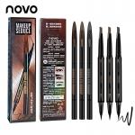 ขายส่ง novo no.5145 seduce eye makeup โนโว ดินสอเขียนคิ้ว+อายไลน์เนอร์