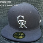หมวก New Era MLB Colorado Rockies 59fifty