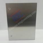 ตู้สแตนเลสกันน้ำ ฝา1ชั้น RBC-02 size: W300xH450xD150 mm.