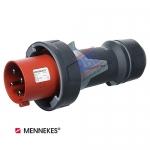 ปลั๊กตัวผู้กันน้ำ MENNEKES (รหัส 13206) (4P) 63A ,400V ,IP67