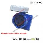 เต้ารับฝังตรงกันน้ำ HTN 4431 (3P) 125A ,220-250V ~, IP67 ,DAKO